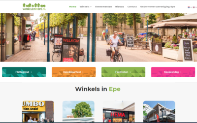 Website winkelen in Epe online